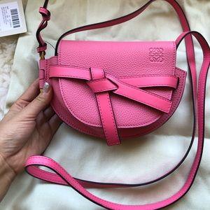 New Authentic Loewe mini gate bag